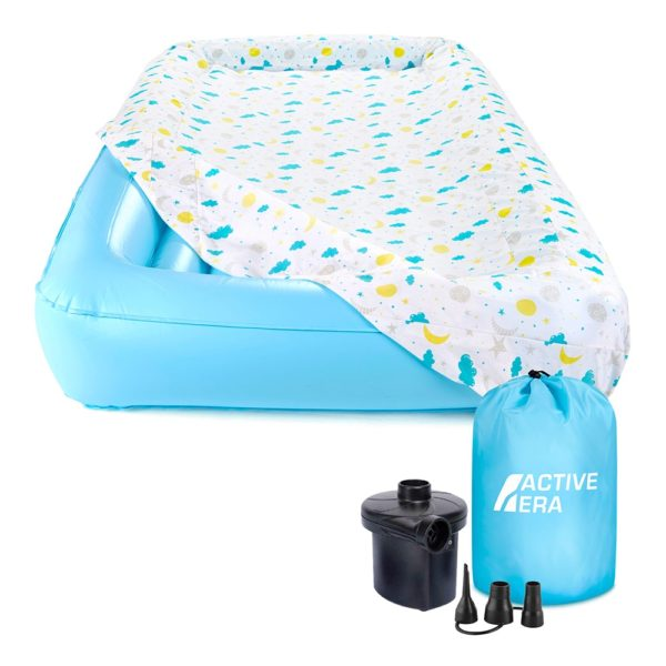 active era children's air bed electric pump and carry bag