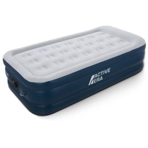 active era inflatable air bed single with a built-in electric pump