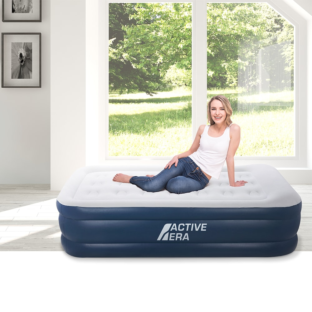 active era inflatable mattress single with a built-in electric pump