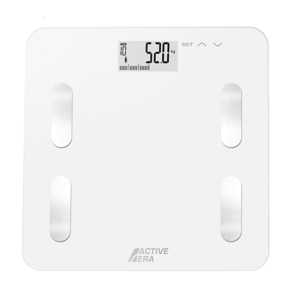 Active Era Body Fat Scales White