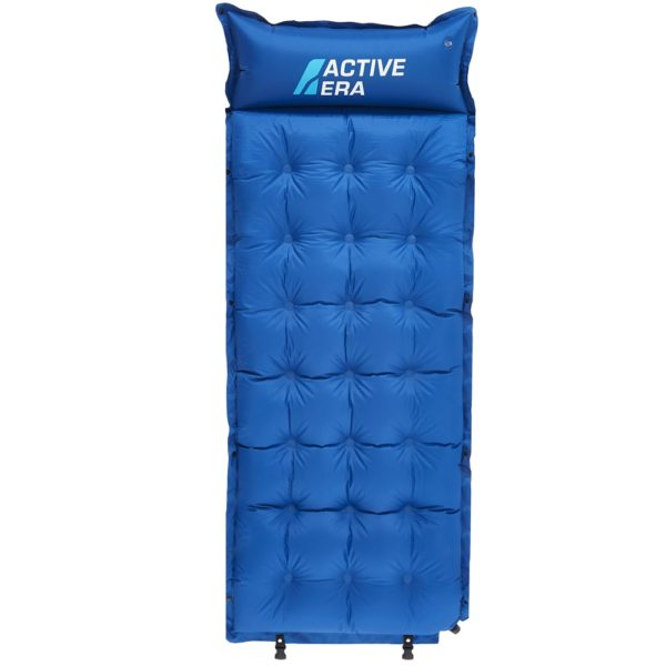 blue camping pad abrasion proof & water resistant