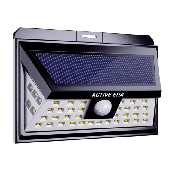 outdoor led security light front