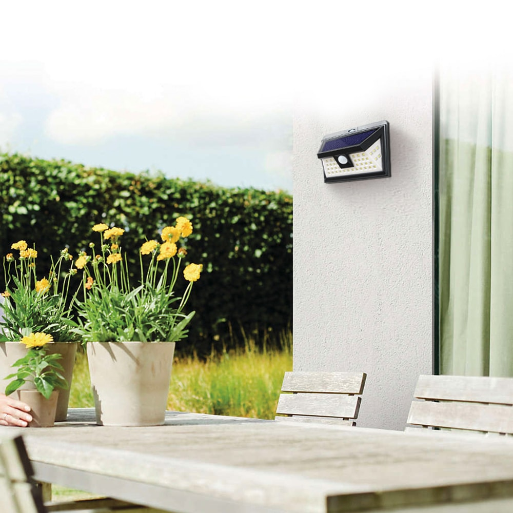 Security Lights Solar Powered Led With Motion Sensor