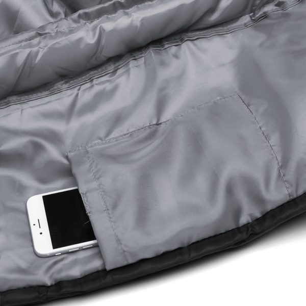 double sleeping bag internal pocket
